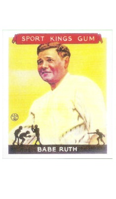 REPRINT 1933 Sport Kings #2 Babe Ruth REPRINT